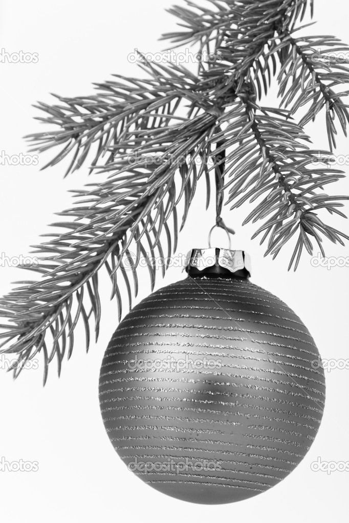 Christmas decoration on Christmas tree — Stock Photo #5295545