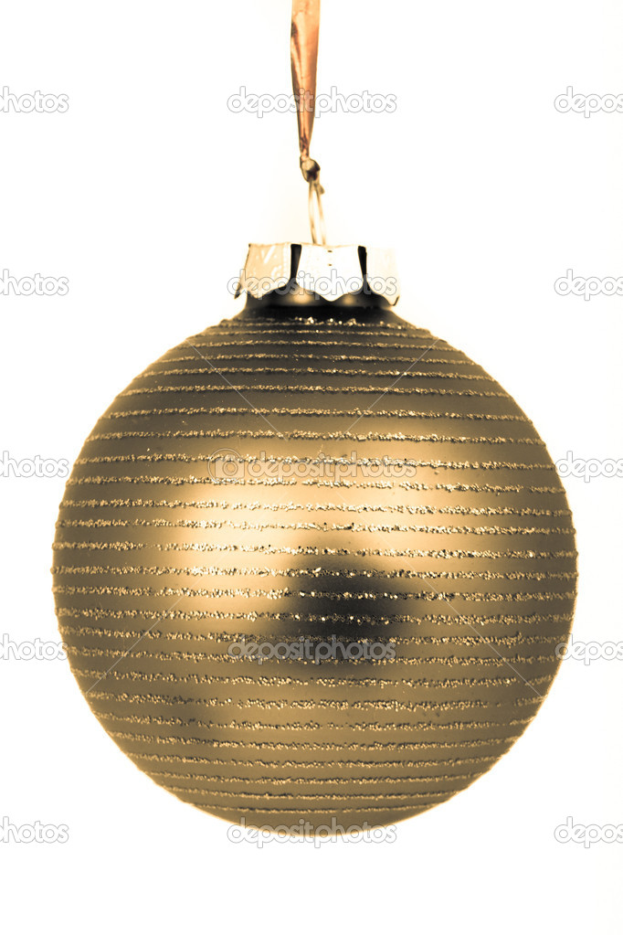 Christmas decoration on Christmas tree — Stock Photo #5295605