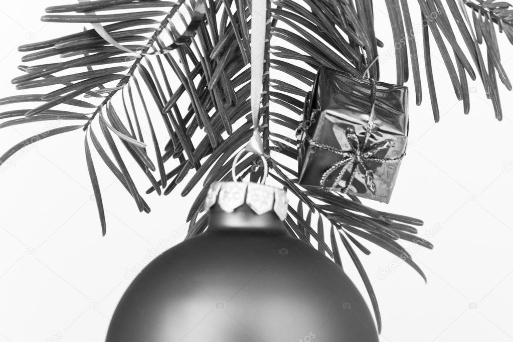 Christmas decoration on Christmas tree  Stock Photo #5295763
