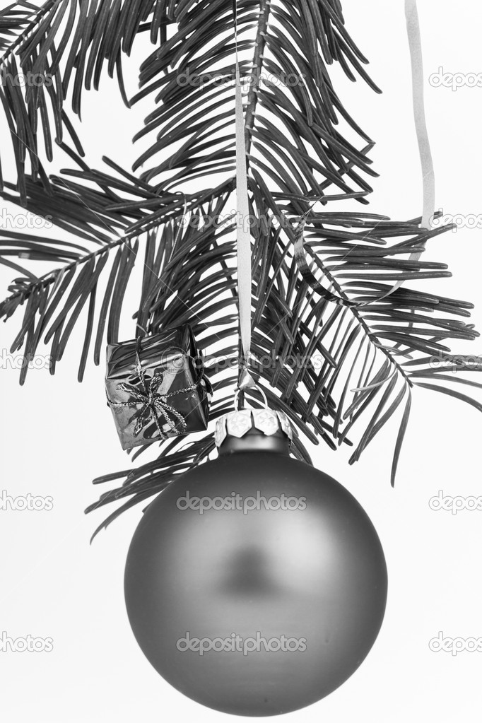 Christmas decoration on Christmas tree — Stock Photo #5295935