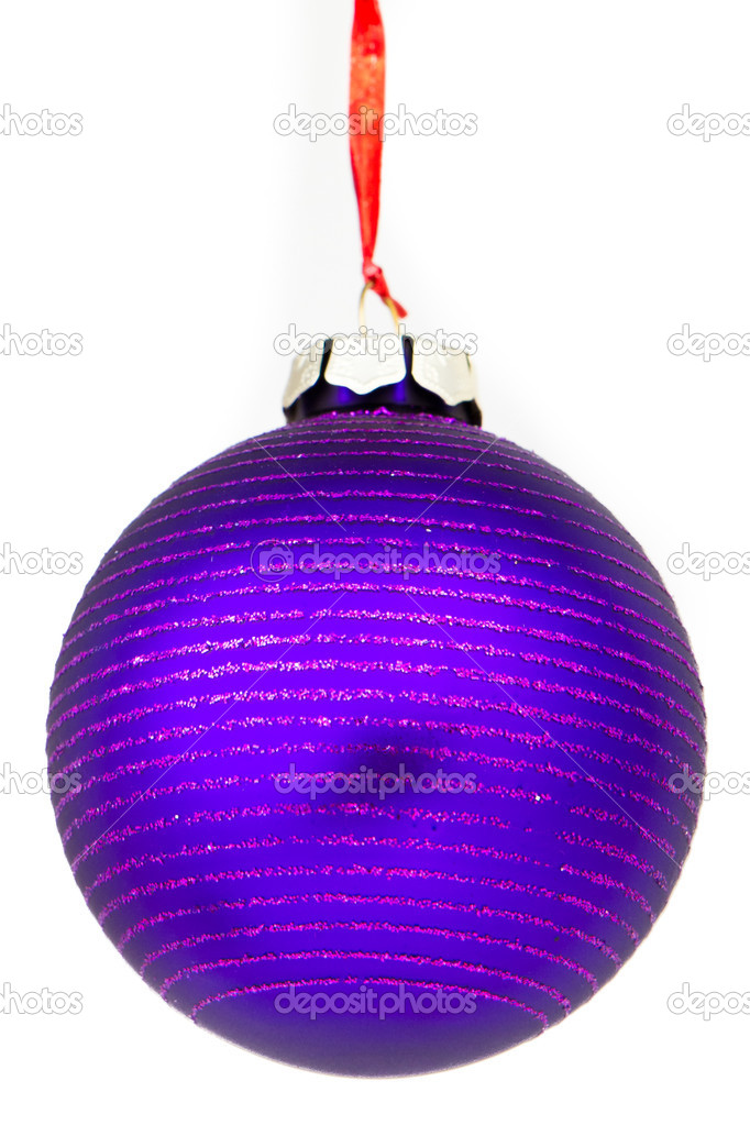 Christmas decoration on Christmas tree — Stock Photo #5296167