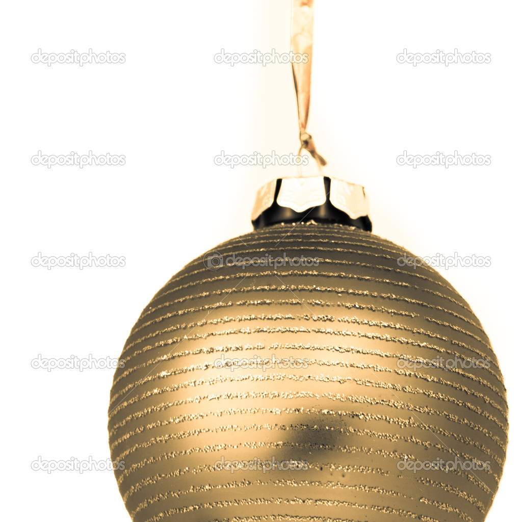 Christmas decoration on Christmas tree — Stock Photo #5296207