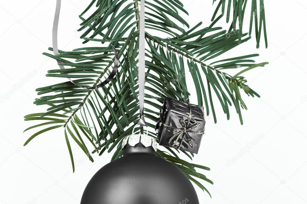 Christmas decoration on Christmas tree — Stock Photo #5296367