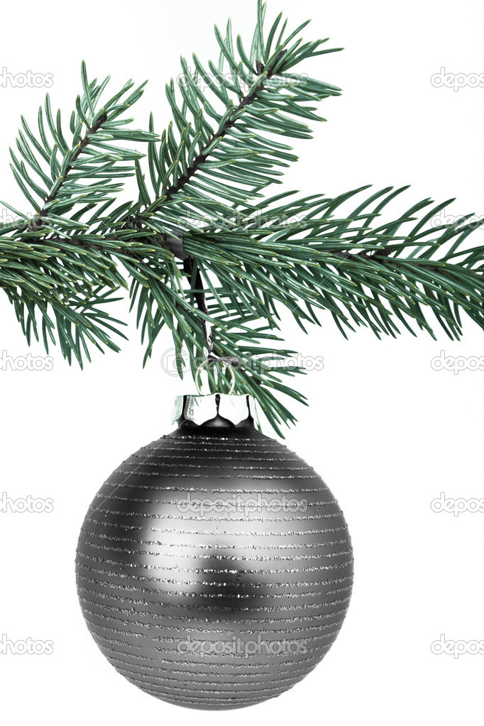 Christmas decoration on Christmas tree — Stock Photo #5296405