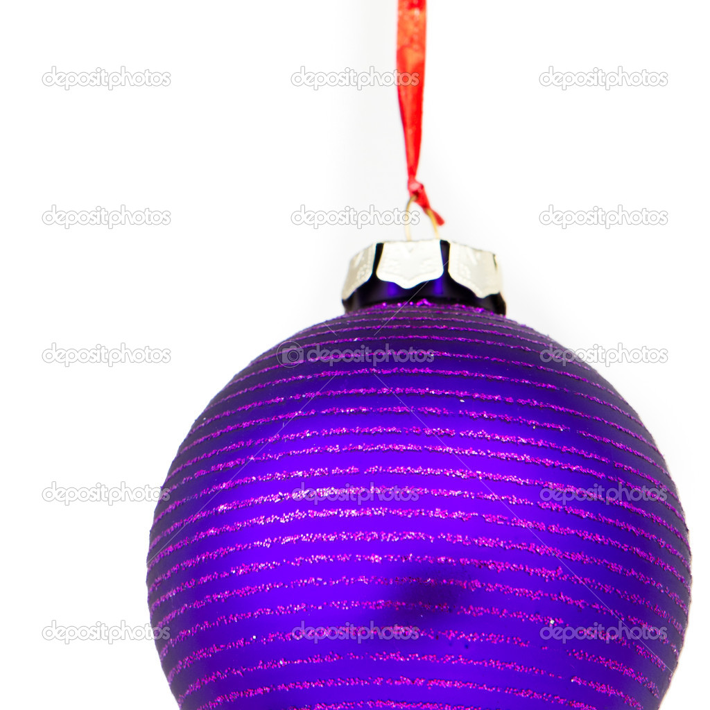 Christmas decoration on Christmas tree — Stock Photo #5296849