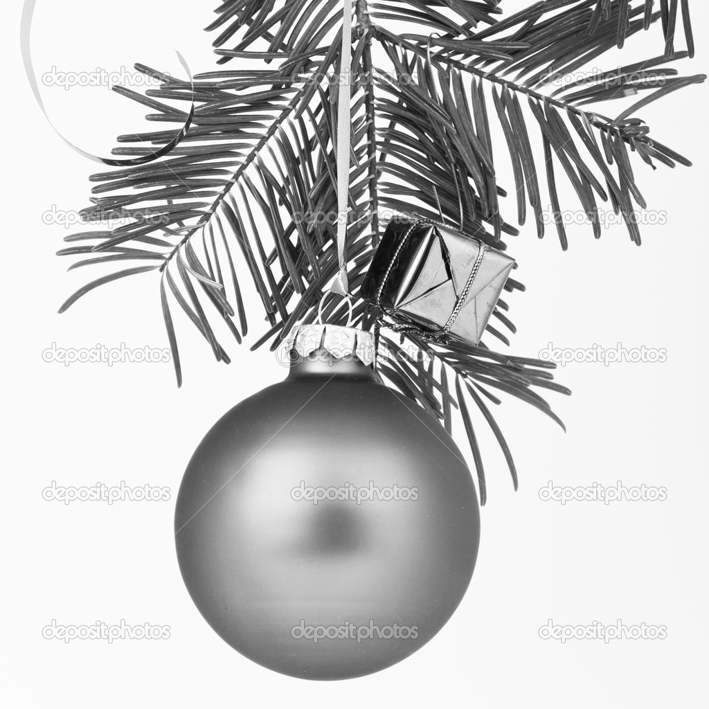 Christmas decoration on Christmas tree  Stock Photo #5298027