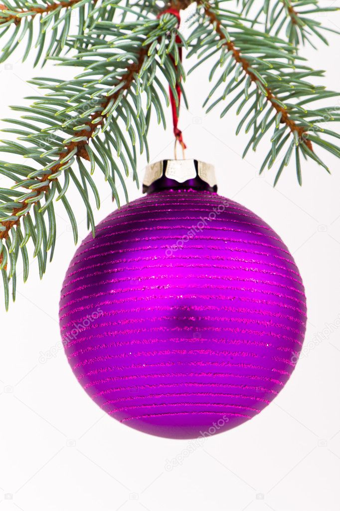 Christmas decoration on Christmas tree — Stock Photo #5298756