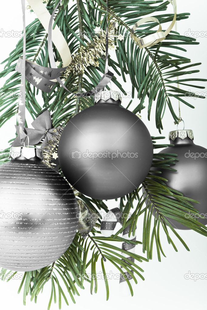 Christmas decoration on Christmas tree — Stock Photo #5298876