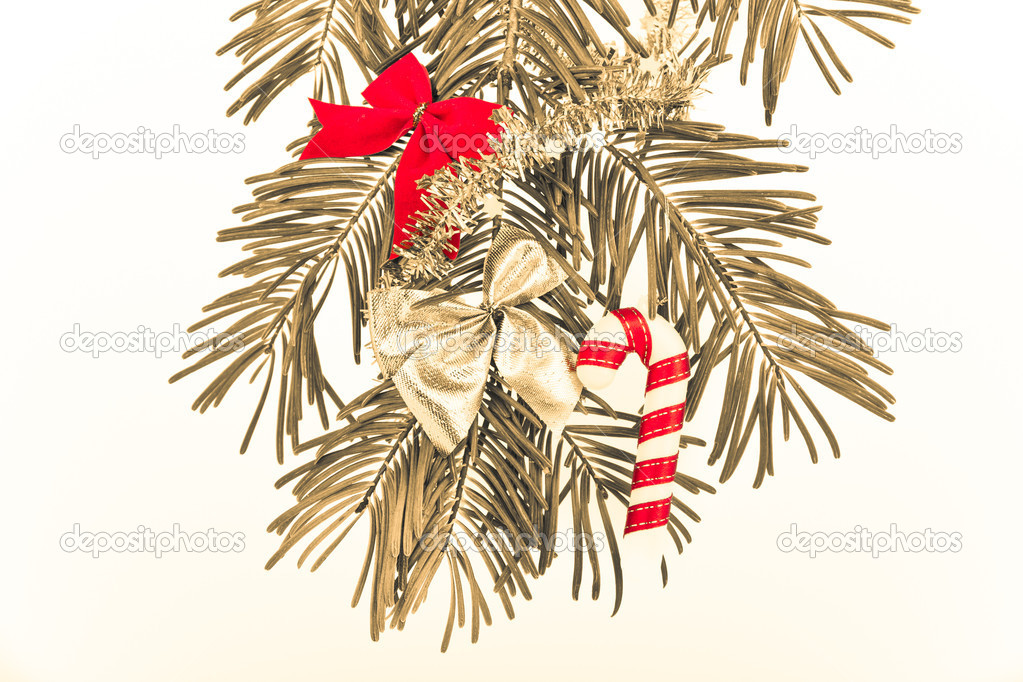Christmas decoration on Christmas tree — Stock Photo #5298881