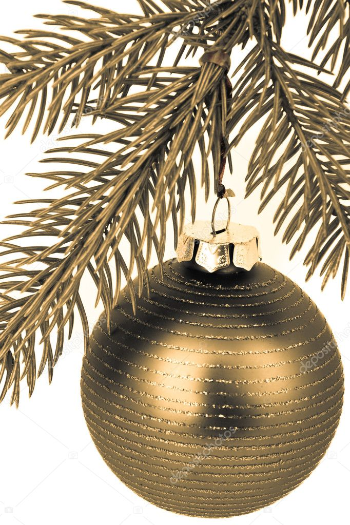 Christmas decoration on Christmas tree — Stock Photo #5299151