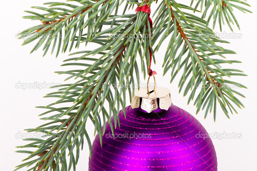 Christmas decoration on Christmas tree — Stock Photo #5299225
