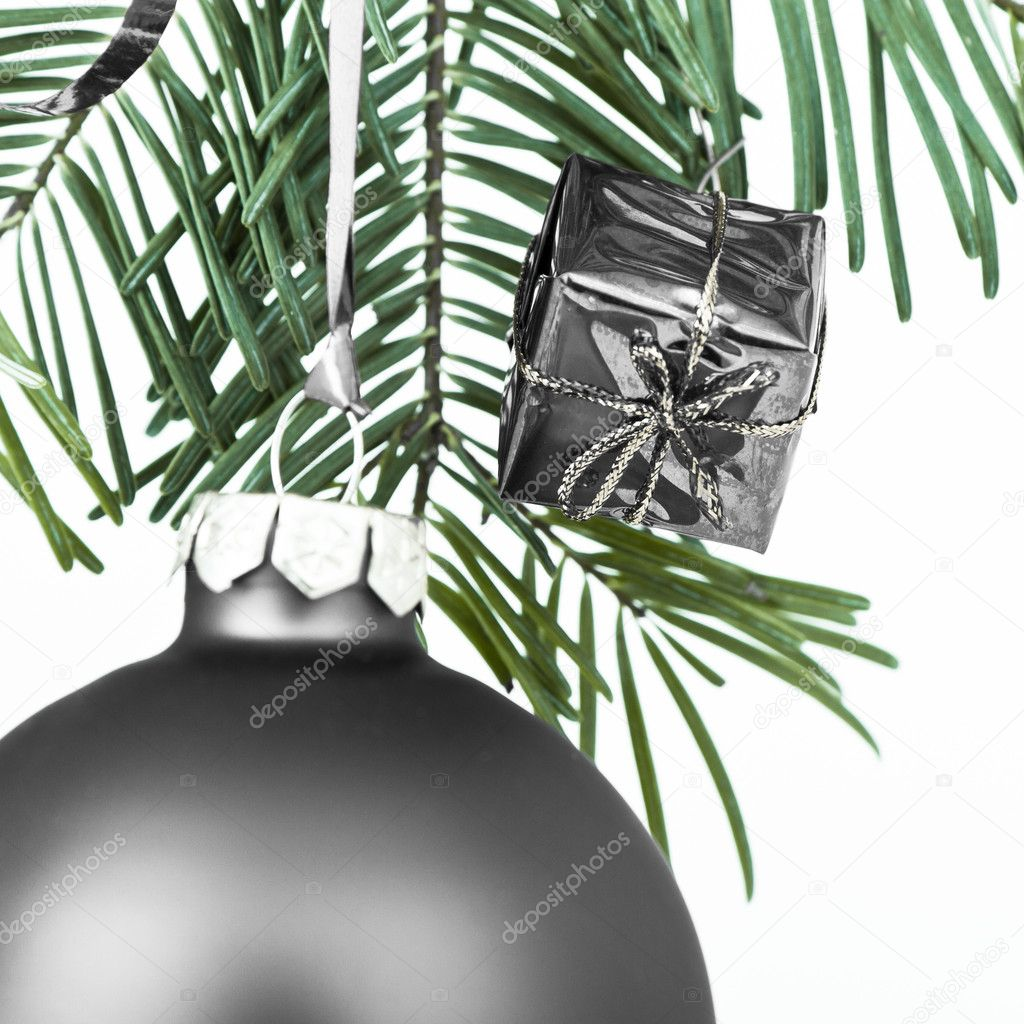 Christmas decoration on Christmas tree  Stock Photo #5299298