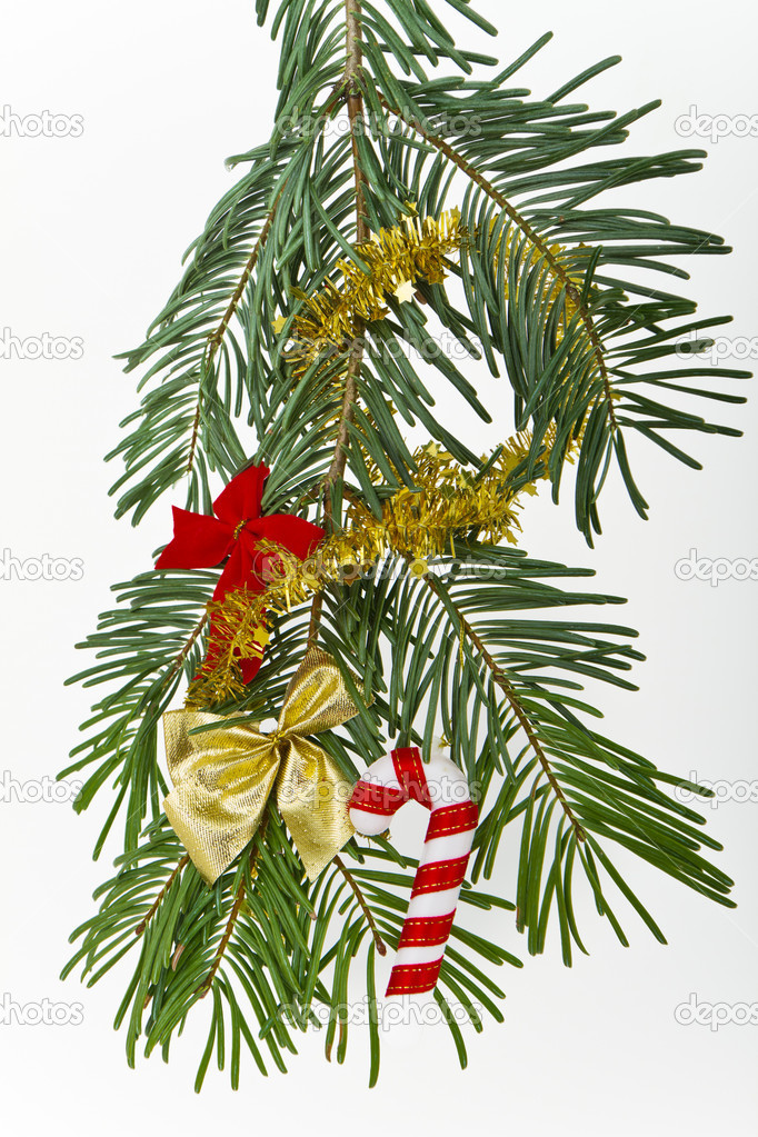 Christmas decoration on Christmas tree  Stock Photo #5299482