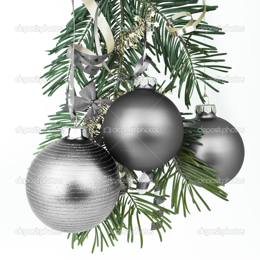 Christmas decoration on Christmas tree  Stock Photo #5299501