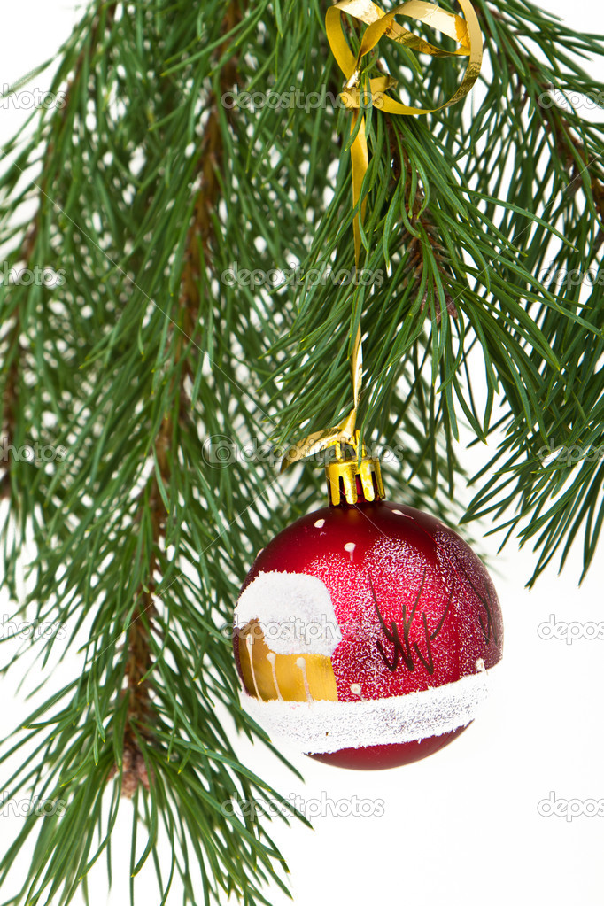 Christmas decoration on Christmas tree — Stock Photo #5299506