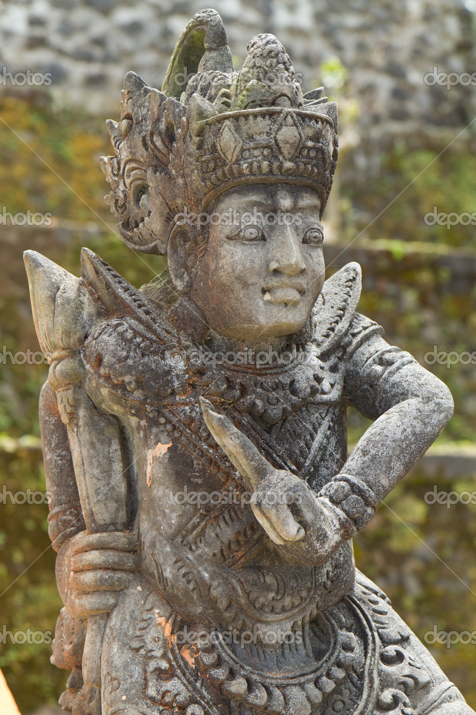 Statue of hindu deamon, Bali, Indonesia  Stock Photo #5299507