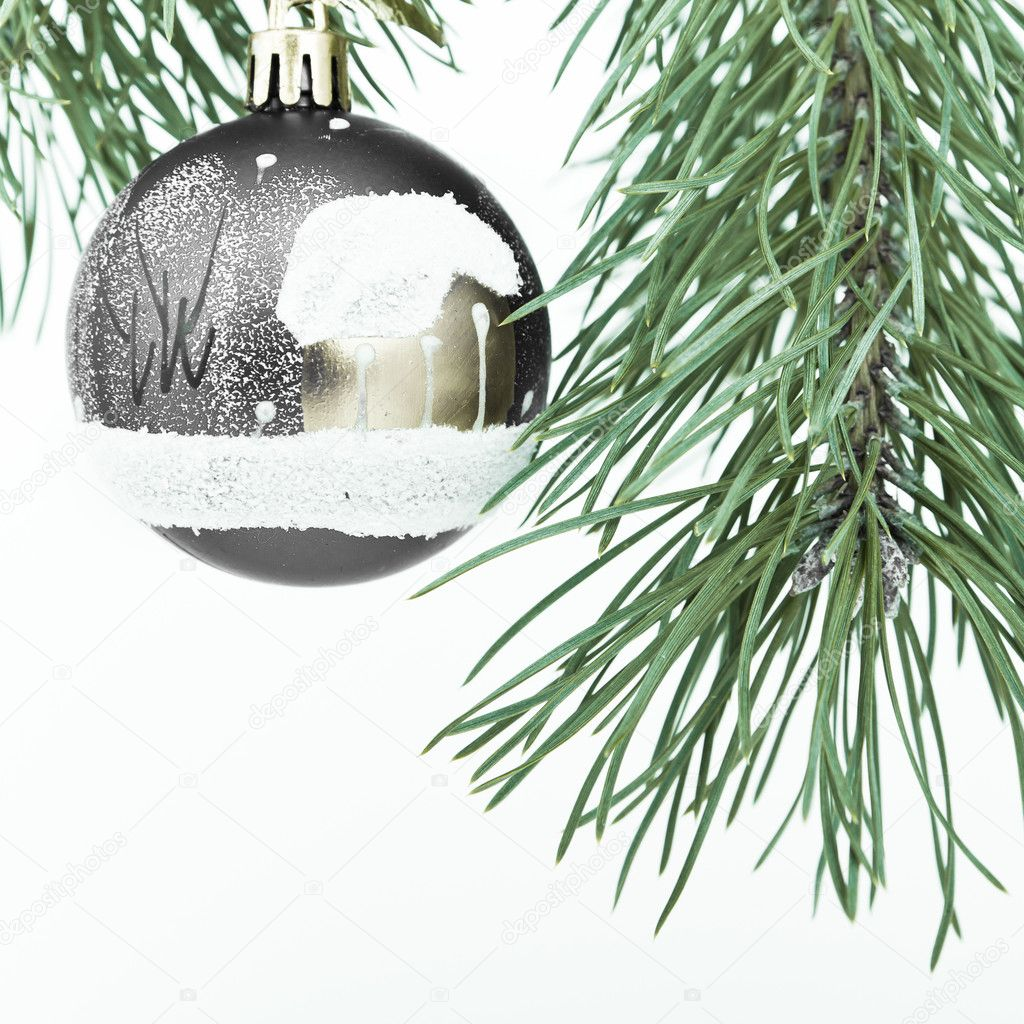 Christmas decoration on Christmas tree — Stock Photo #5299544
