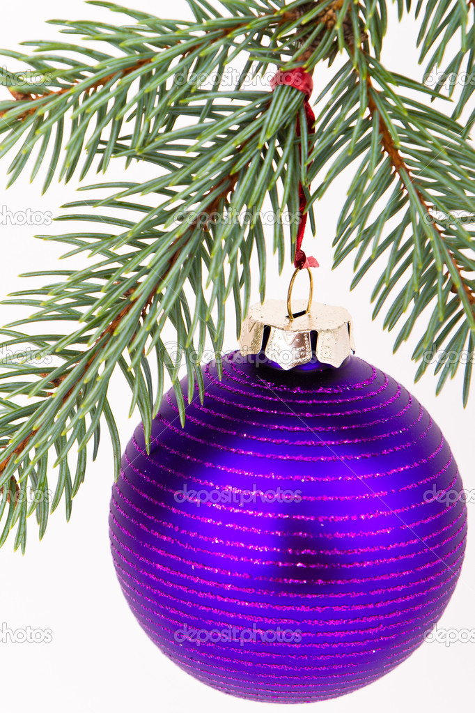 Christmas decoration on Christmas tree  Stock Photo #5299593