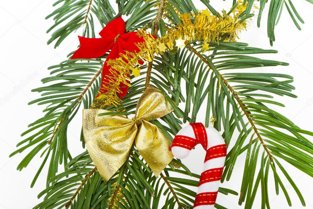 Christmas decoration on Christmas tree — Stock Photo #5299620
