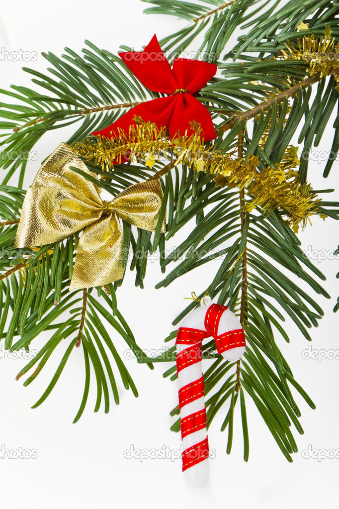Christmas decoration on Christmas tree — Stock Photo #5299769