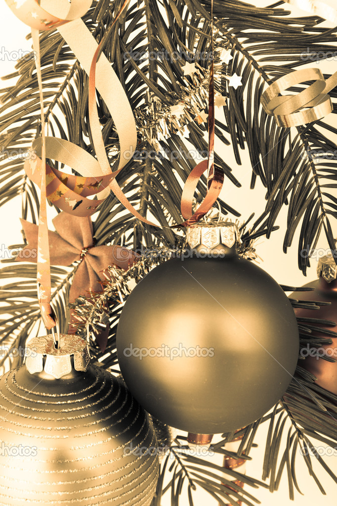 Christmas decoration on Christmas tree — Stock Photo #5299814