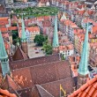 Historic city of Gdansk — Stock Photo