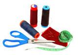 Suprimentos de costura — Foto Stock