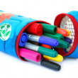Colored felt tip pens — Stock Photo #4000142