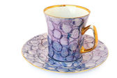 Tea cup and saucer — Stock Photo