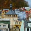 Roofs of old town — Stock Photo