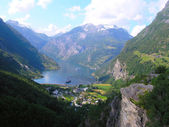 Beautiful Norway nature — Stock Photo