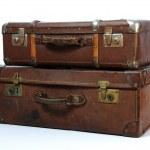 Vintage Suitcase — Stock Photo