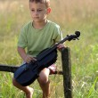Young violinist — Stock Photo #4601829