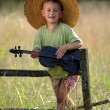 Young violinist — Stock Photo #4601843