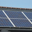 House with solar panels on roof — Stock Photo #3955871