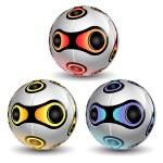 Colorful Soccer Balls — Stock Photo