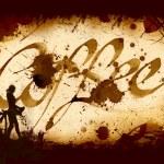 Cofee Kalligraphie — Stockfoto