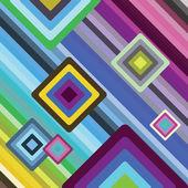 Quadratic pattern background — Stock Photo