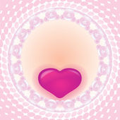 Greeting Card Valentine's Day — Stock Photo