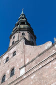 Tower of St. Peter church from below — Stock Photo