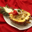 Stock Photo: Pineapple fried rice