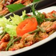 Chili prawn — Stock Photo