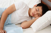 Man sleeping — Stock Photo