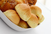 Plate of Buns — Stock Photo