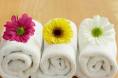 Spa flowers — Stock Photo