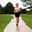 Woman running — Stock Photo #5018838