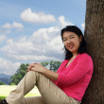 Woman outdoors — Stock Photo #5160397