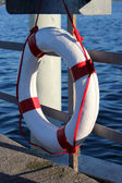 Buoy near the lake — Stock Photo