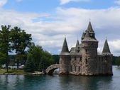 Boldt Castle on Ontario lake, Canada — Stock Photo