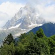 Stock Photo: Mont-Blanc massif, France